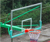China Super Toughened Safety Glass Basketball Backboard Wall Mount For Buildings factory