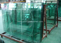 China Doors Coated Tempered Safety Glass Decorative Curved Toughened Glass factory