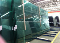 China Fire Proof Safety Laminated Glass Curtain Wall / Stairs Safety Glass Panels factory