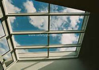 Curtain Wall Glass Flat Laminated Safety Glass 5mm Toughened Glass