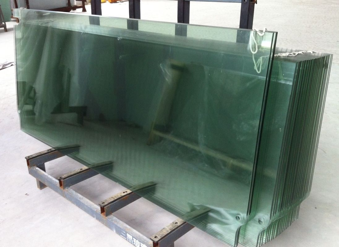 Toughened Glass Doors Tempered Window Glass With Cutouts And Holes 12mm 10mm