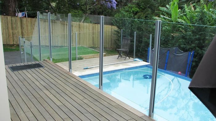 Flat Frameless Common Float Laminated glass Outdoor Swimming ...