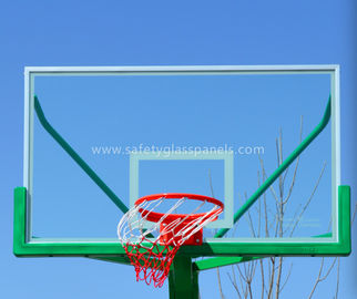 Outdoor Fully Tempered Glass Basketball Backboard With Impact Resistant