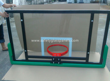 Adjustable Laminated Glass Basketball Backboard 8mm / 10mm / 12mm