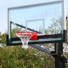 Ultra Clear 15mm Outdoor Tempered Glass Composite Basketball Backboard