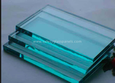 Insulated Extra Clear Float Glass Sheets , Flat Back Painted Glass Partition Wall