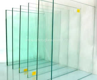 Annealed Float Laminated Clear Toughened Glass For Table Tops , Storefront Glass Door