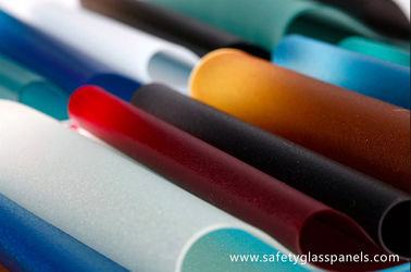 Heat Resistant Gray Flat PVB Film 0.76mm In Laminated Safety Glass